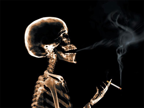 The sooner you quit smoking the better