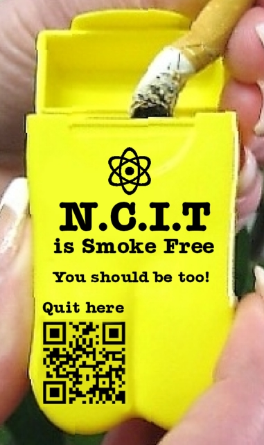 Personal Ashtray - N.C.I.T. University
