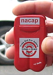 Nacap Personal Ashtrays from No BuTTs