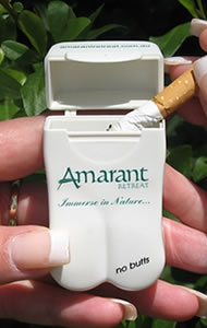 Amarant Personal Ashtray