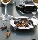 Open ashtrays are bad for customers, bad for staff, bad for your business's image and really bad for our environment