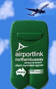 Brisbane AirportLink Project's Personal Ashtrays