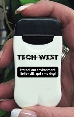 Tech-West's Personal Ashtrays